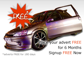 Place your advert FREE for 6 months. Signup FREE Now